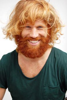 5 Unique Blonde Hair and Red Beard Styles We Love Red Hair red blonde hair Ginger Men, Ginger Beard, Ginger Hair, Messy Blonde Hair, Red Blonde Hair, Men Hair Color, Hot Hair Colors, Hair Colour, Hair And Beard Styles