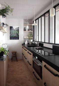 Kitchen in Paris apartment