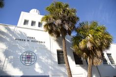 Renovation underway at the Homer Hesterly National Guard Armory on North Howard in West Tampa is jumpstarting economic development in the neighborhood by attracting additional investors interested in situating their businesses near the planned Jewish Community Center.