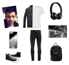 """""""The Journey Pt. 5 RTD"""" by bluejasmine360 ❤ liked on Polyvore featuring Alexander McQueen, Converse, Casetify, JanSport, Beats by Dr. Dre, men's fashion and menswear"""