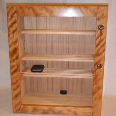 Cigar Humidor by Custom Furniture Creations