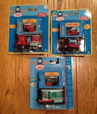 3 Take Along Thomas and Friends Diecast Metal Magic Mining & Cargo & Mail Train