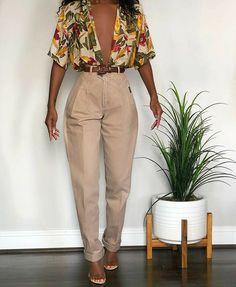 Black Girl Fashion, Look Fashion, 90s Fashion, Fashion Outfits, Fashion Clothes, Fashion Tips, Classy Outfits, Stylish Outfits, Vintage Outfits