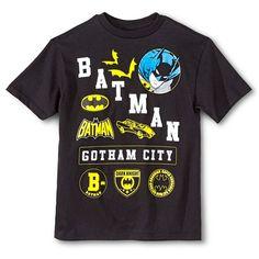6daebafd654cb Batman Gotham City Boys  Graphic Tee - Black Baby Batman