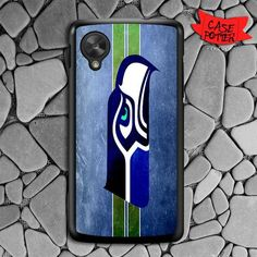 Seattle Seahawks Nexus 5 Black Case