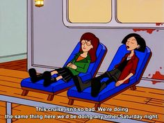 Don't worry, Daria. My weekends consist of napping and nothingness, too.