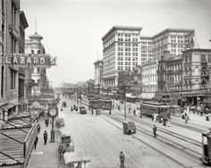 Canal Street, New Orleans, 1910