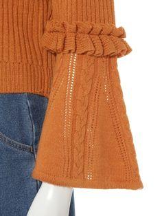 袖フレア-ニットカーディガン(カーディガン)|Lily Brown(リリーブラウン)|ファッション通販|ウサギオンライン公式通販サイト