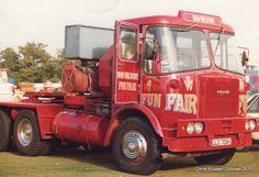 Old Lorries, Gypsy Wagon, Fun Fair, Caravans, Big Trucks, Trailers, 1960s, Transportation, Carnival