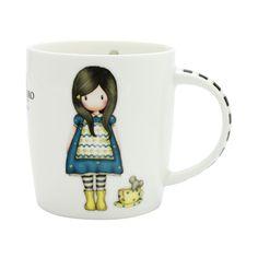 Santoro white mug Gorjuss The Little Friend
