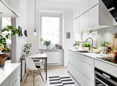 kitchen, greens | Immy and Indi