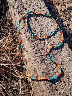 Diy Beaded Bracelets, Beaded Necklace Patterns, Diy Jewelry Necklace, Beaded Choker, Necklace Designs, Handmade Bracelets, Beaded Jewelry, Tribal Necklace, Necklace Ideas