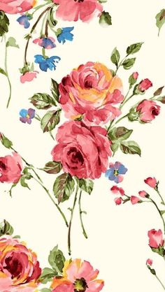 This darling vintage rose wallpaper has a sumptuous satin finish in pastel pink, purple and white. This wallpaper is inches wide and 33 feet long. Iphone 5 Wallpaper, Trendy Wallpaper, Print Wallpaper, Flower Wallpaper, Pattern Wallpaper, Cute Wallpapers, Wallpaper Backgrounds, Vintage Wallpapers, Iphone Backgrounds