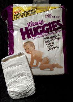 Vintage Generic Store Brand Diaper Sz Medium Unisex