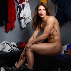 athlete famous nude