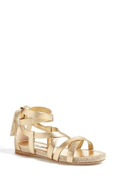 Miu Miu Espadrille Sandal (Women) available at #Nordstrom