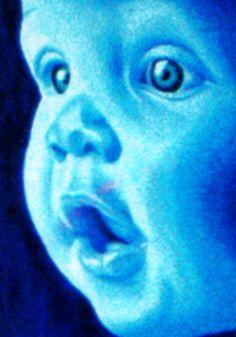 bébé bleu   CHRISTMANN NELSOM