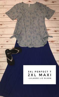 LuLaRoe outfit. LuLaRoe Maxi + LuLaRoe Perfect T.