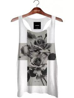 Regata Cavada - Cross Roses Branca