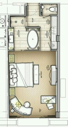 Inspiration Web Design Hotel plan has a lot to offer for simple ensuite layout