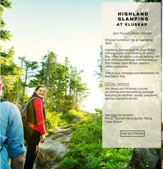 Glamping Highland Roadtrip and Click Maps Our clickable Highland Roadtrip Map Guide for your #Summer2018 Adventure - Maritime style! Happy #glamping and #camping @livelifeintents @BigSpruceBrew @northriverkayak @TourismCB @TourismNS Cabot Trail, Cape Breton, Glamping, Maps, Tourism, Road Trip, Island, Adventure, How To Plan