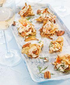 Crepes de salmón y queso fresco – Delicooks | Good Food Good Life