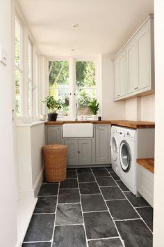 ... / LAUNDRY   Pinterest   Black Slate Floor, Laundry Rooms and Laundry