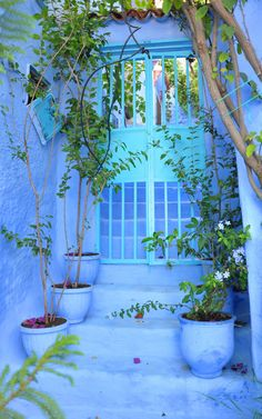 'The Blue City' of Chefchaouen, Morocco