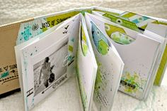 Scrap Plaisir: ** DT Scrapatalie : Mini album summer 2014 **