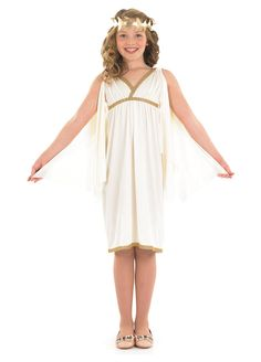 Cleopatra Girl childrens dress up costume by Fun Shack