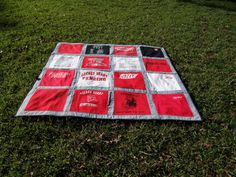 Memory Quilt out of 16 of Your Old Tshirts  by sunshineofautumn