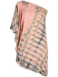 Women - All - House Of Dagmar One Sleeve Drape Dress - DIVERSE