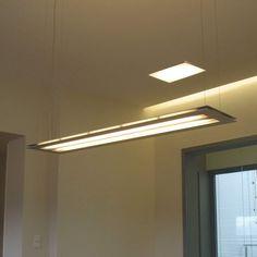 Extruded Aluminum, Aluminium, Home Office Lamps, Indirect Lighting, Slide, Office Lighting, Color Filter, White Light, Pendant Lamp