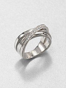 Michael Kors - Pavé Twisted Ring