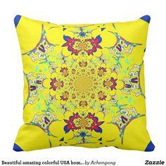 美しくすばらしいカラフルによって米国は装飾が家へ帰ります  #beautiful #amazing stuff gift products sold on zazzle #Hakuna #Matata