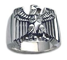 Next year!  Army ring, Sentry military ring by Carroll Eagle Rings