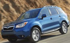 Top Rated Small SUV - Subaru Forester