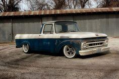 1961 Ford F100 Truck Shortbed Unibody Ratrod Hot Rod Custom, image 1