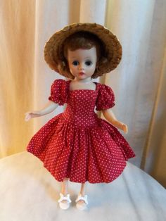 50s Madame Alexander Cissette Doll Includes Doll Dress Hat and Shoes