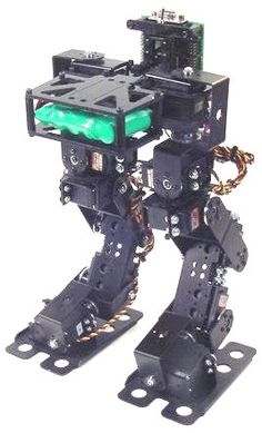 Lynxmotion Biped Robot Scout (No Servos)- Click to Enlarge