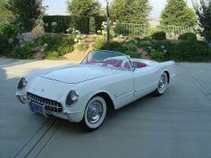 AutoTrader Classics - 1953 Chevrolet Corvette Convertible White 6 Cylinder Automatic 2 wheel drive | American Classics | Redlands, CA