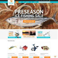 Hobby Fishing Bootstrap WooCommerce Theme