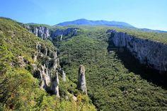 nature Vela Draga in Ucka mountains, Istria, Croatia