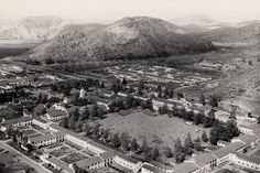 Camarillo, CA 1950. The grounds of the old Camarillo State Hospital, now home to Cal State University Channel Islands.