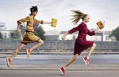 Кара Делевинь и Бинкс Уолтон в рекламе Chanel