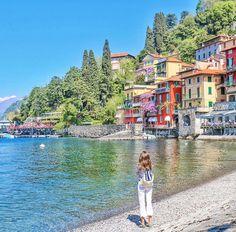 Chasing Colours Varenna on Lake Como