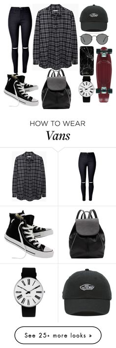 """""""Untitled #381"""" by omgitskaylapope on Polyvore featuring 6397, Converse, Witchery, Ray-Ban, Vans and Rosendahl"""