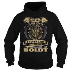 BOLDT Last Name, Surname T-Shirt