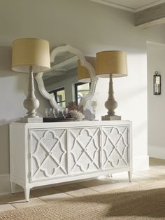 White Dining Room Furniture - Ivory Key Dining Collection