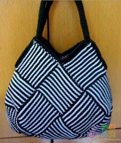 Women's bag is related in technology = knitted patchwork =, master class / Source by Bags Crochet Handbags, Crochet Purses, Knitting Patterns, Crochet Patterns, Free Knitting, Patchwork Bags, Knitted Bags, Handmade Bags, Handmade Crafts